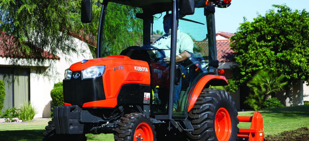 best Kubota tractor for small farm 3350