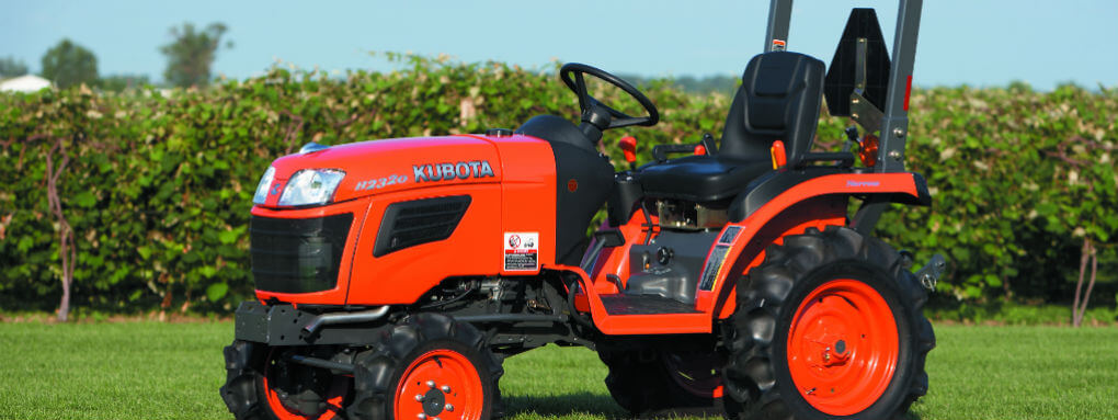 best utility tractor for small farm Kubota B2320
