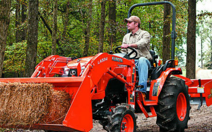 Kubota ROPS bar feature
