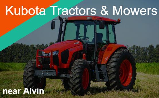 Kubota Tractors Mowers Near Alvin