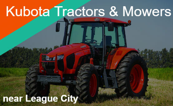 Kubota Tractors Mowers Near League City