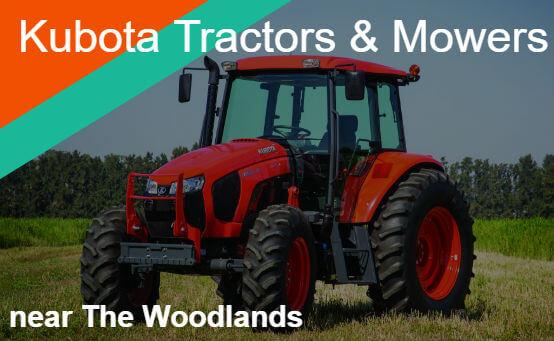 Kubota Tractors Mowers Near The Woodlands