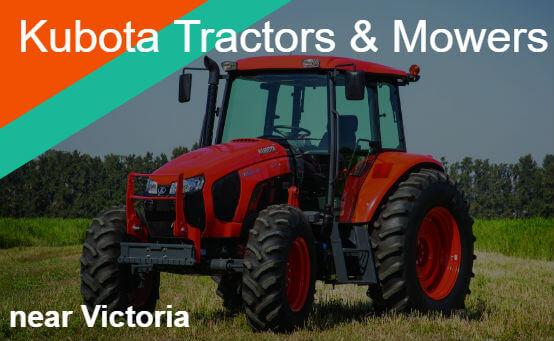 Kubota tractors mowers near Victoria
