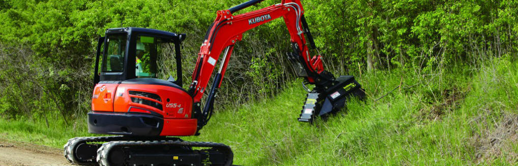 Takeuchi vs. Kubota mini excavator