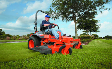 how do you drive a zero turn mower?
