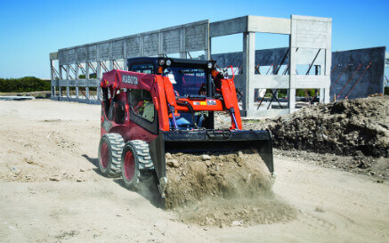 track vs. wheeled skid steer