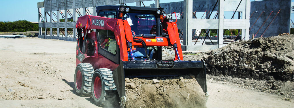 track vs. wheeled skid-steer