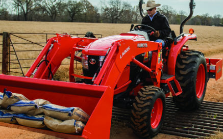 Kubota vs. New Holland tractor