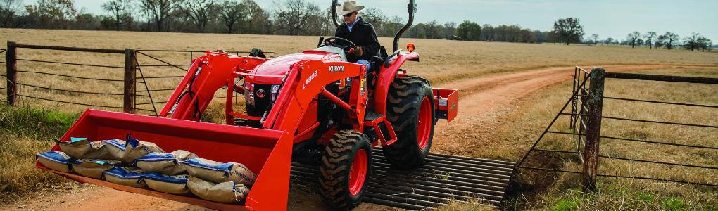 Kubota vs. New Holland tractor