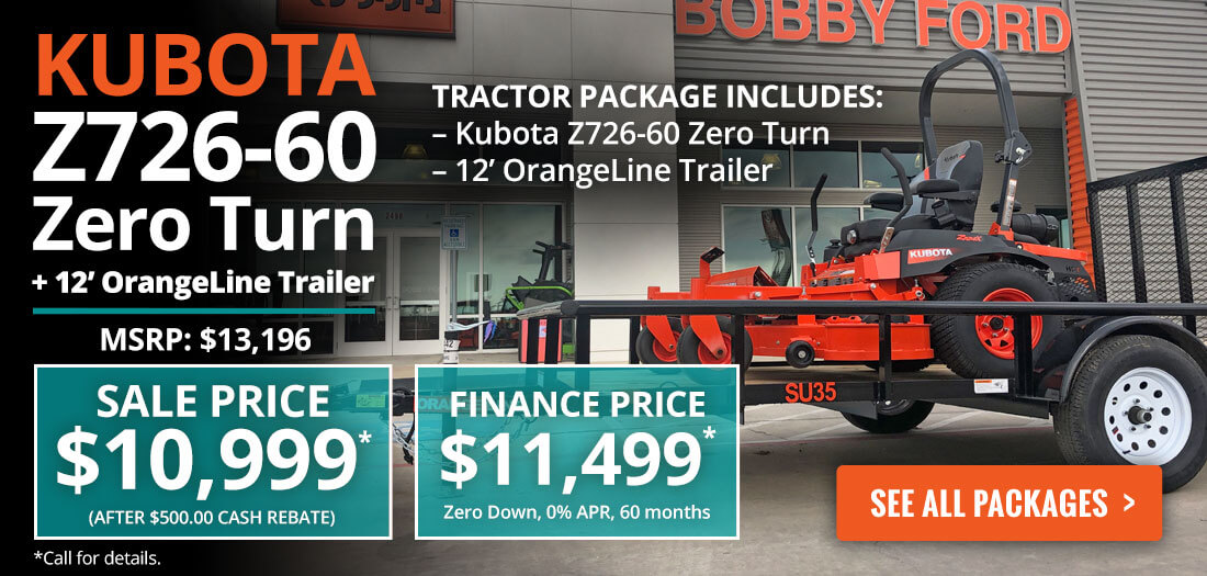 Kubota mower prices