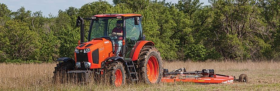 Kubota vs. Case tractors