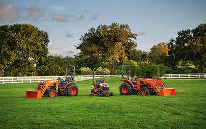 compact vs. sub-compact tractor